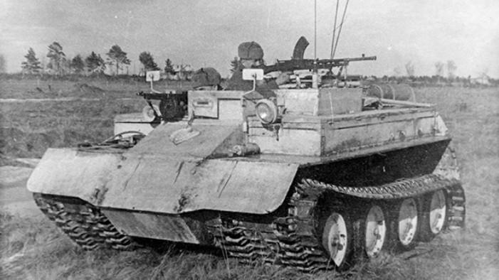 Снегоход Armoured Snowmobile Mk.I