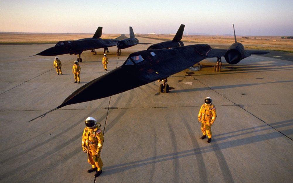 SR-71 Blackbird и пилоты