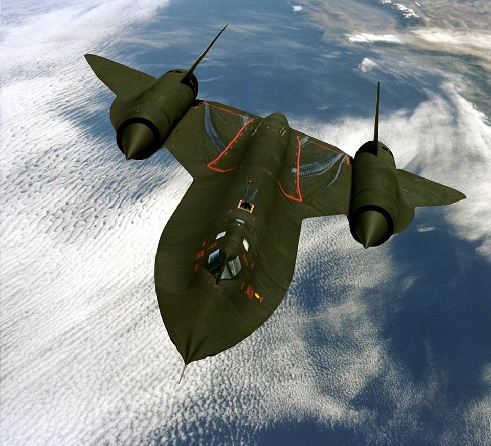 SR-71 в полете