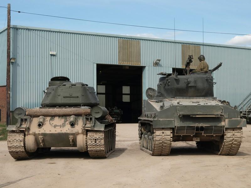 Т-34-76 и «Шерман»