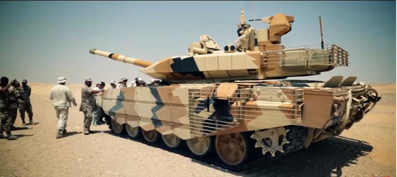 Т-90МС в Кувейте
