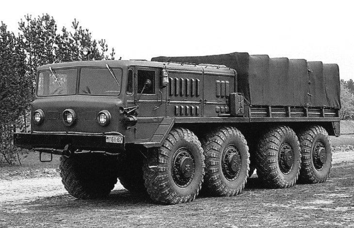 Тягач МАЗ-535