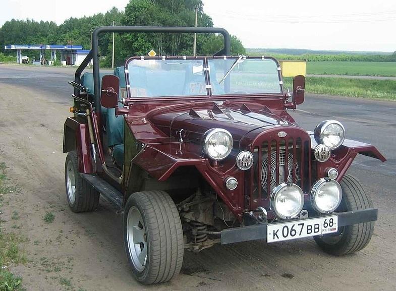 Тюнинг ГАЗ-67