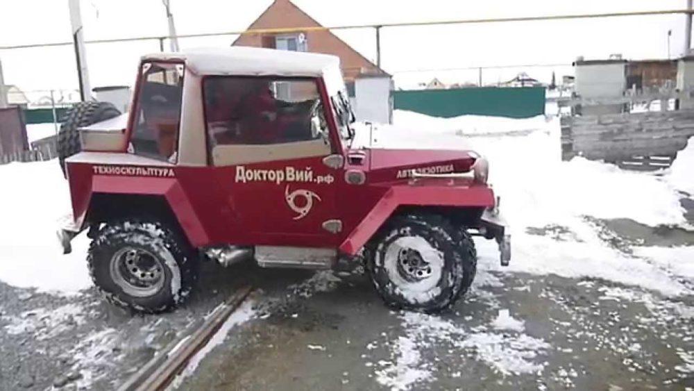 Тюнингованный ГАЗ-67