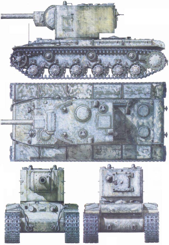 Внешний вид КВ-2