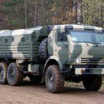 Военный КамАЗ 5350
