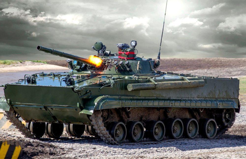 Выстрел БМП-3