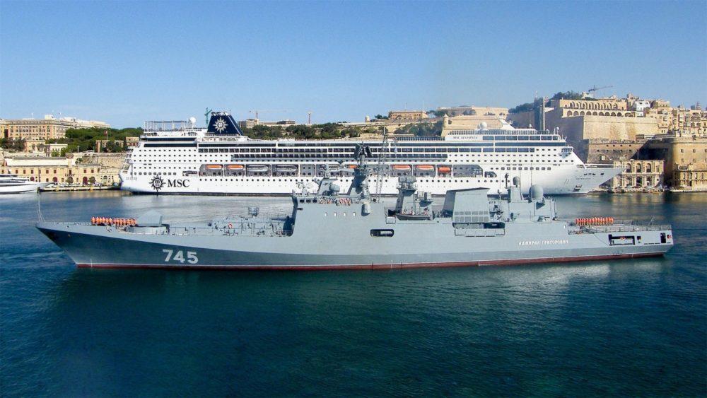 «Адмирал Григорович» на Мальте