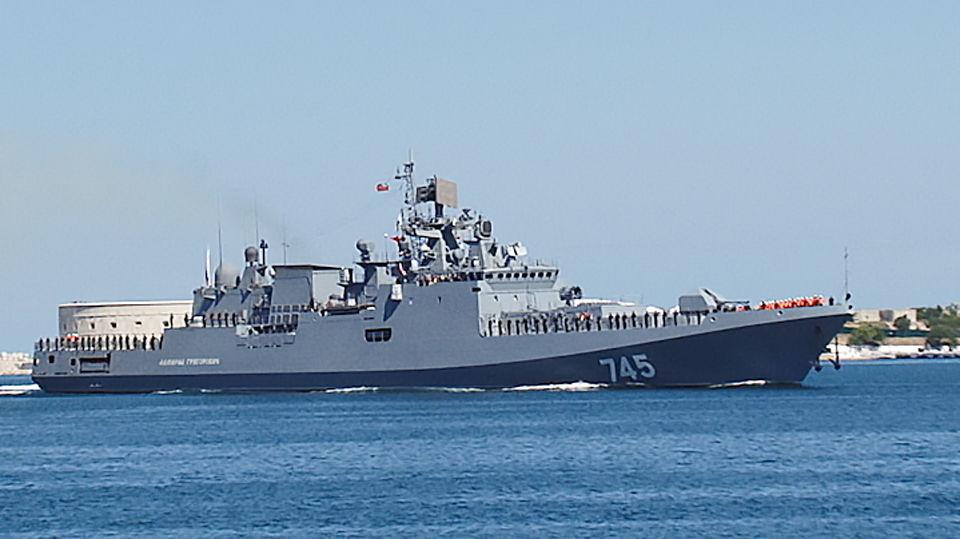«Адмирал Григорович» в Севастополе