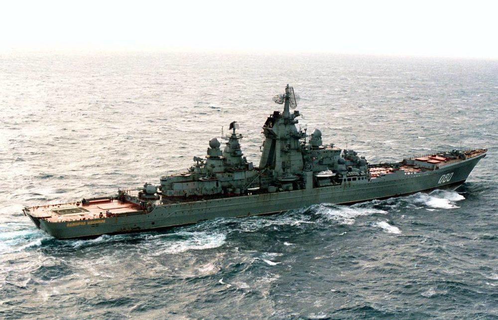 «Адмирал Нахимов» до модернизации