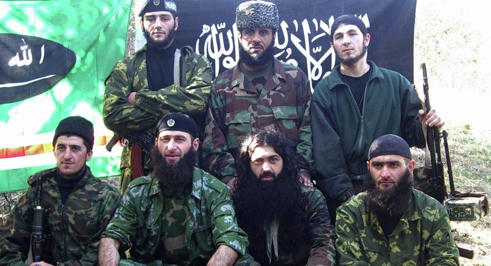 Чеченские боевики-ваххабиты
