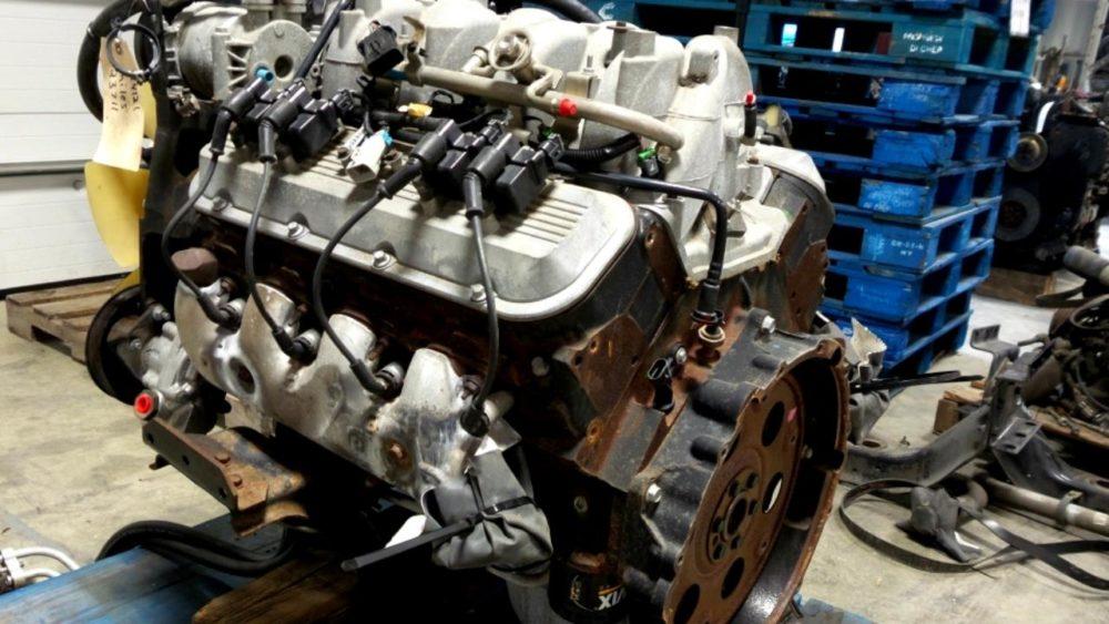 Двигатель GM Vortec V8