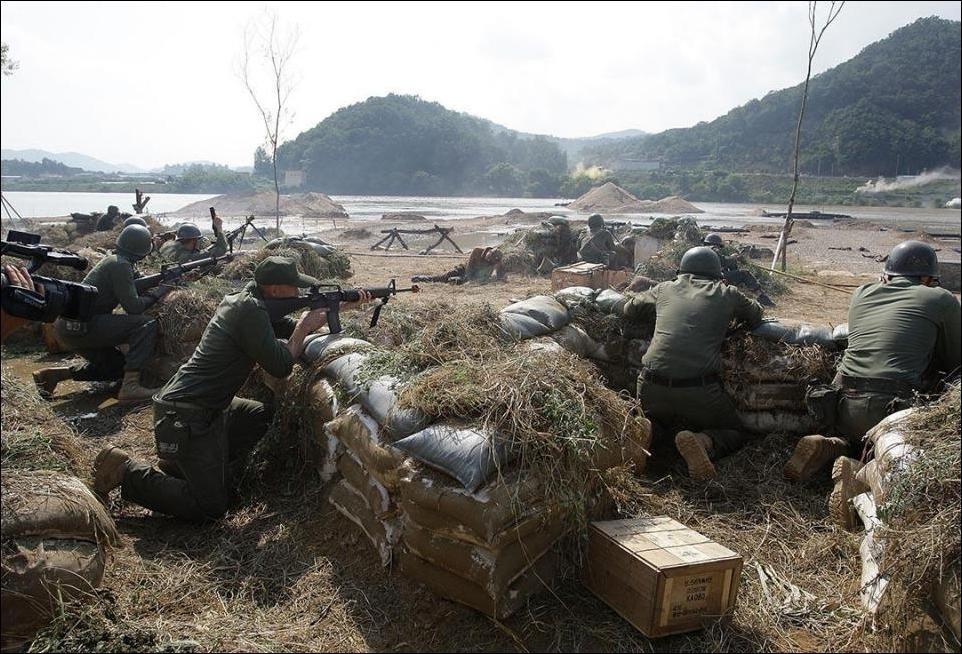 Фото времён Корейской войны