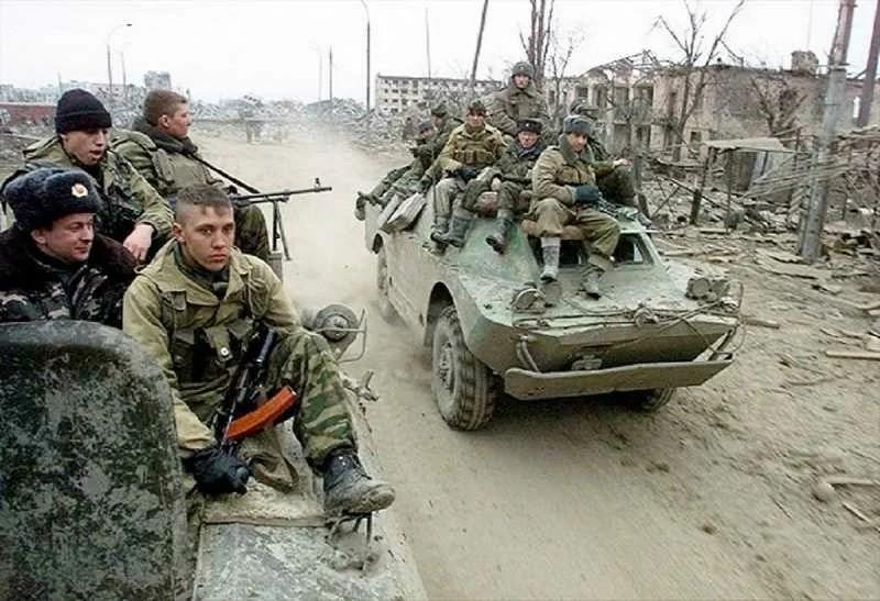 Фото времён Второй чеченской войны