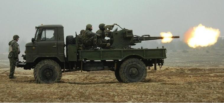 «Гантрак» на базе ГАЗ-66