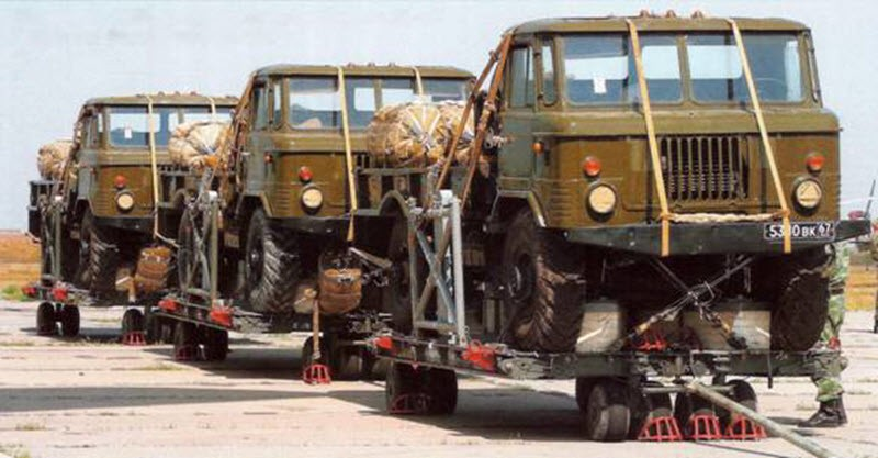ГАЗ-66 на платформах