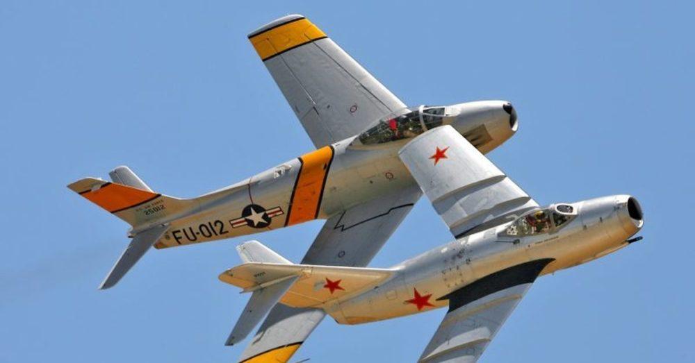 МиГ и F-86 Sabre