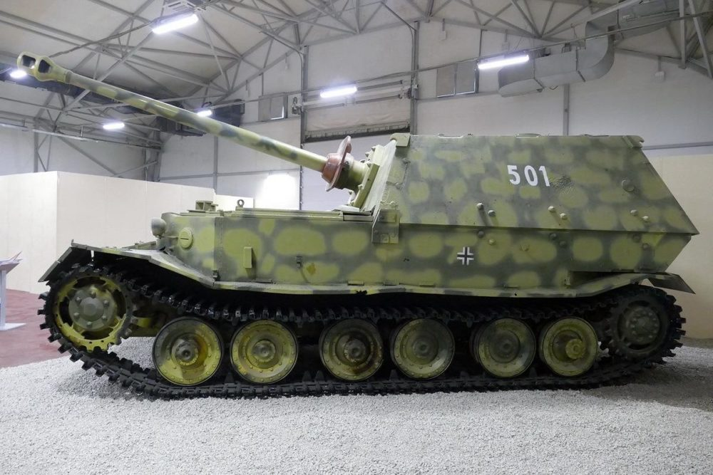 Модель САУ «Фердинанд»