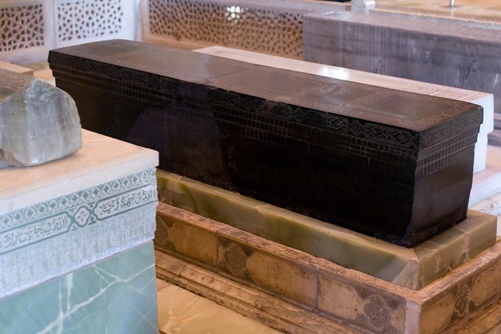 Надгробие могилы Тамерлана
