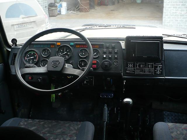 Приборная панель ГАЗ-33081