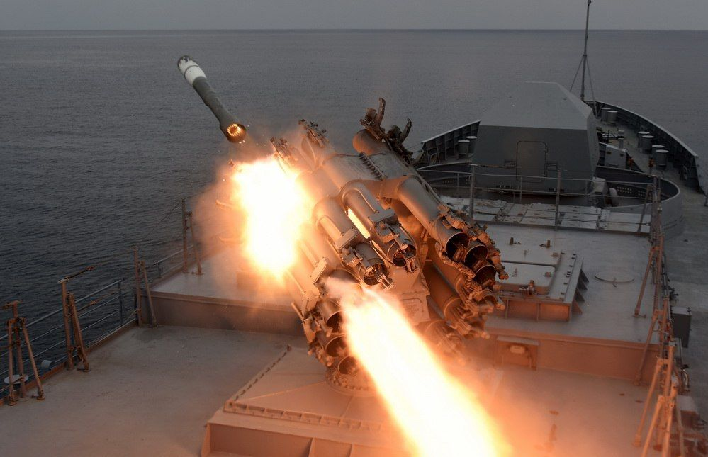 РБУ-6000 на «Адмирале Григоровиче»