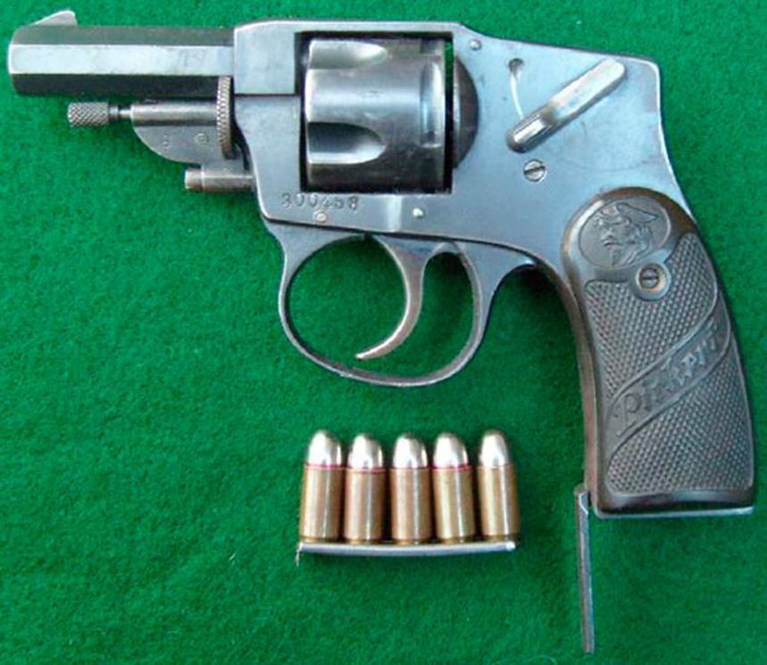 """Револьвер с гравировкой """"Пиккерт"""""""
