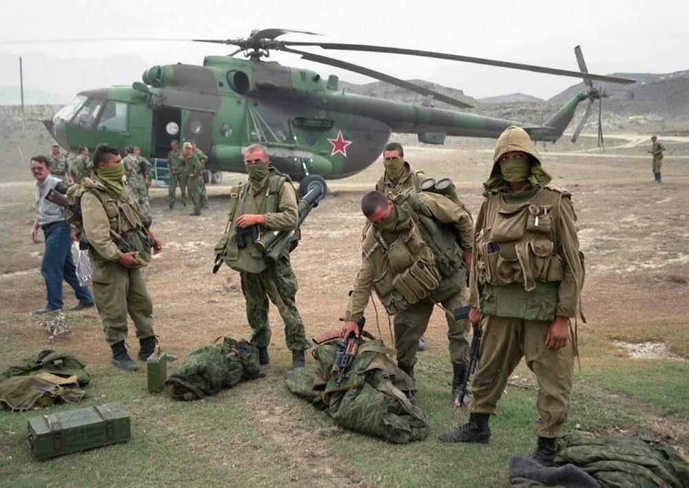 Спецназ РФ во Второй чеченской войне