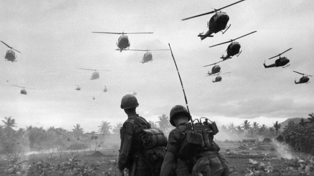 Вертолеты США во Вьетнаме