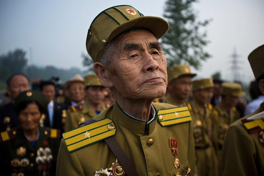 Ветераны Корейской войны