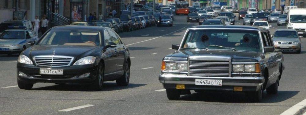 ЗиЛ-41047 на улицах