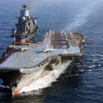 «Адмирал Кузнецов» в море