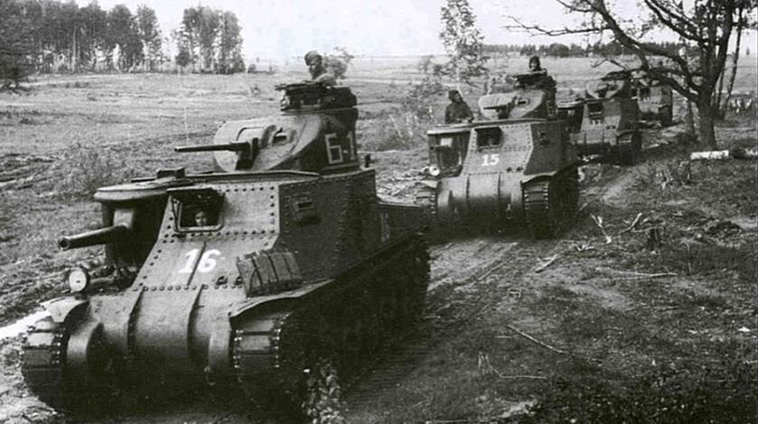 Американские танки М3