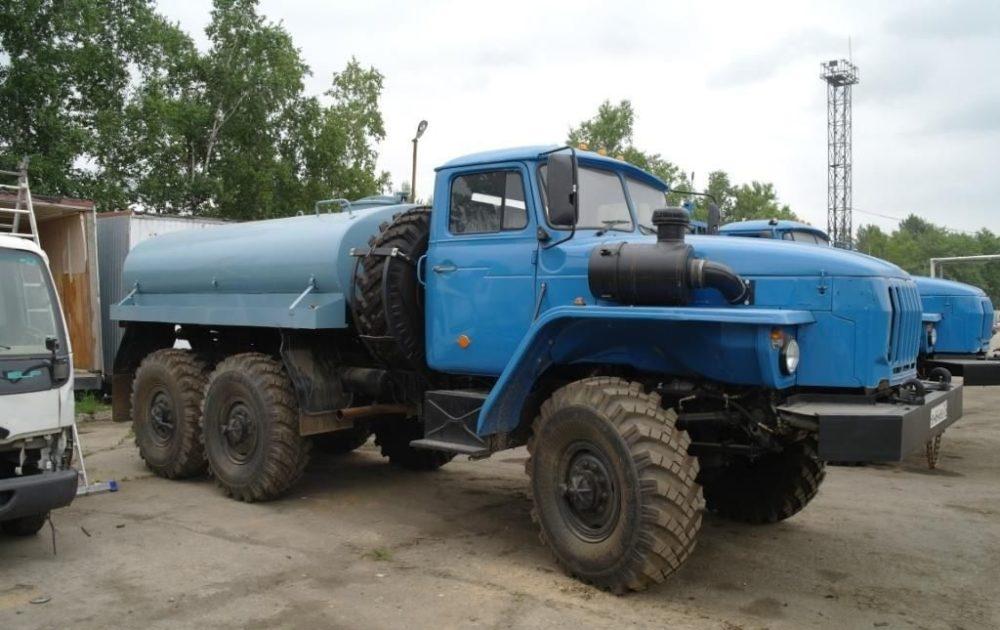 Автоцистерна на базе Урал-4320