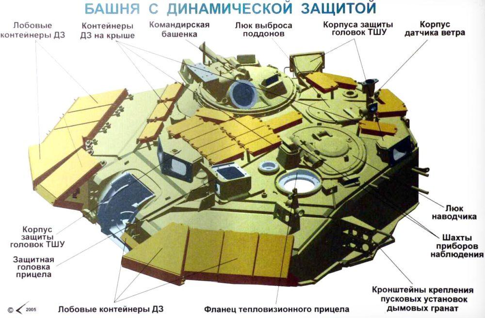 Башня Т-90А