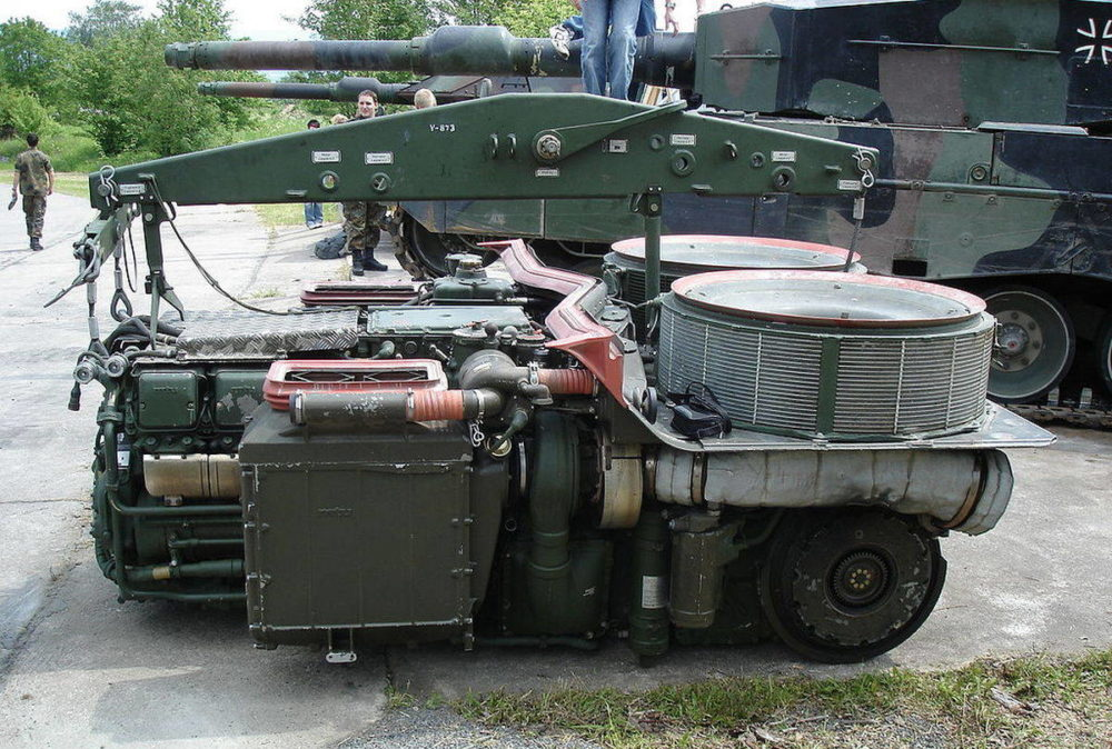 Блок двигателя «Леопард-2»