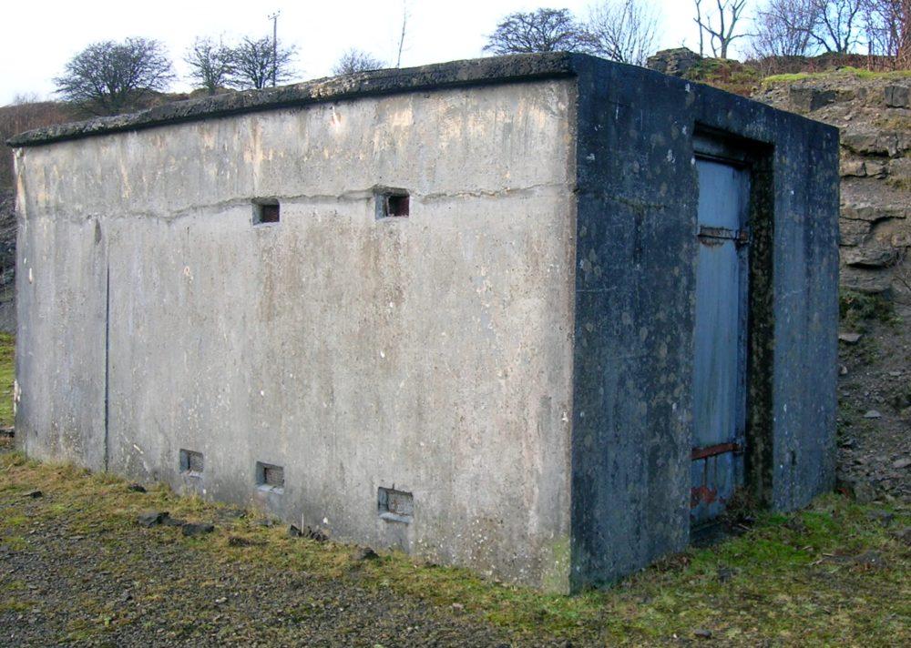 Бункер для динамита