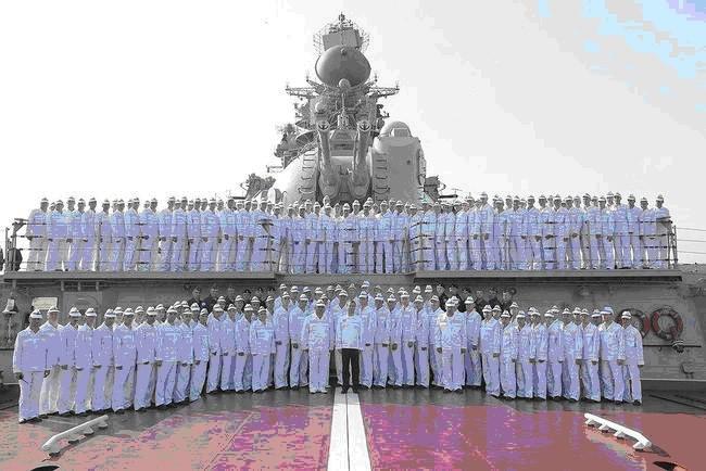 Экипаж «Петра Великого»