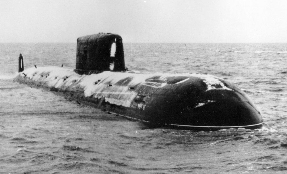 К-278 в период испытаний