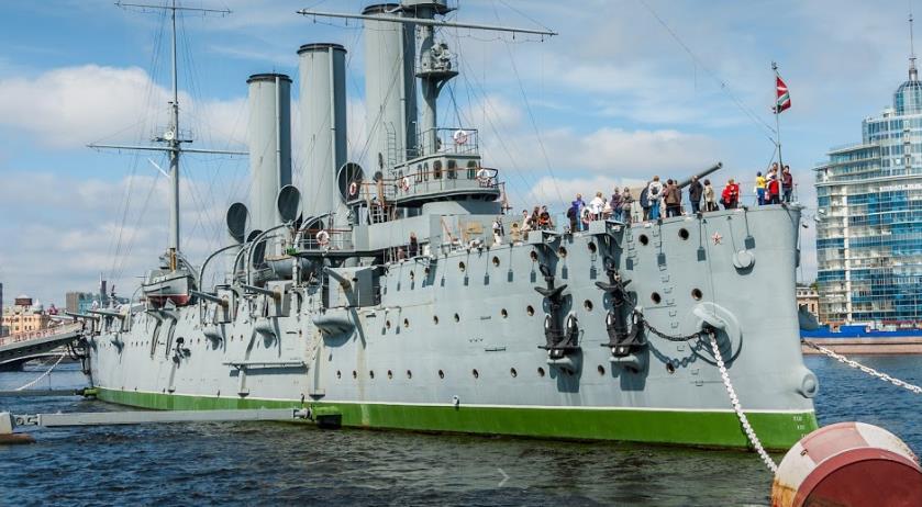 Крейсер «Аврора» сегодня