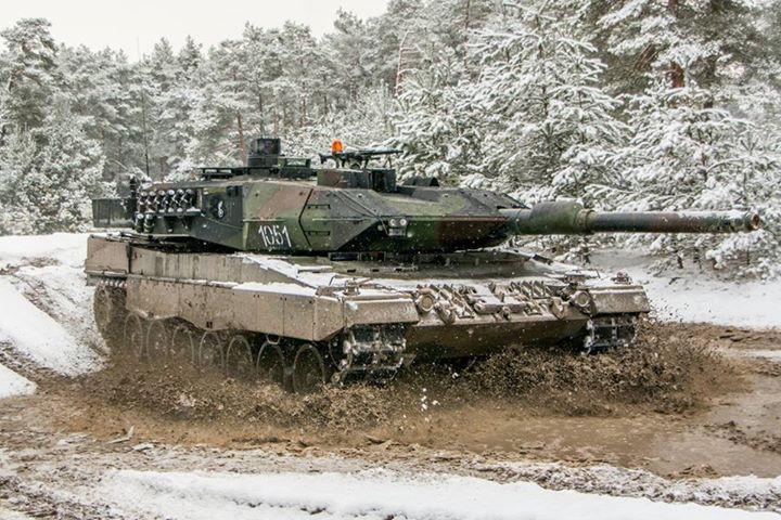 Leopard 2A5PLs