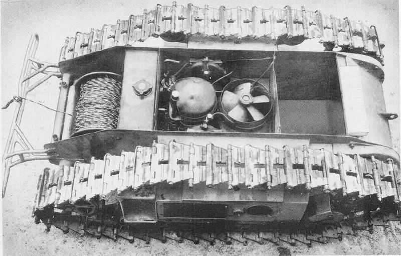 Немецкая телеуправляемая танкетка «Боргвардт»