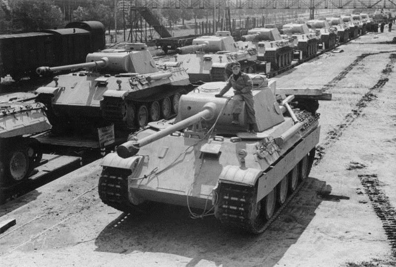 Немецкие танки Pz.V «Пантера»