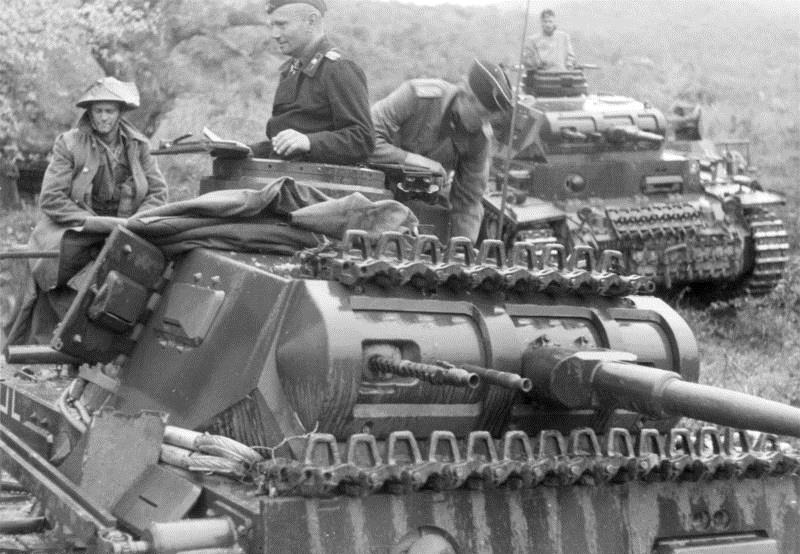 Немецкие танкисты