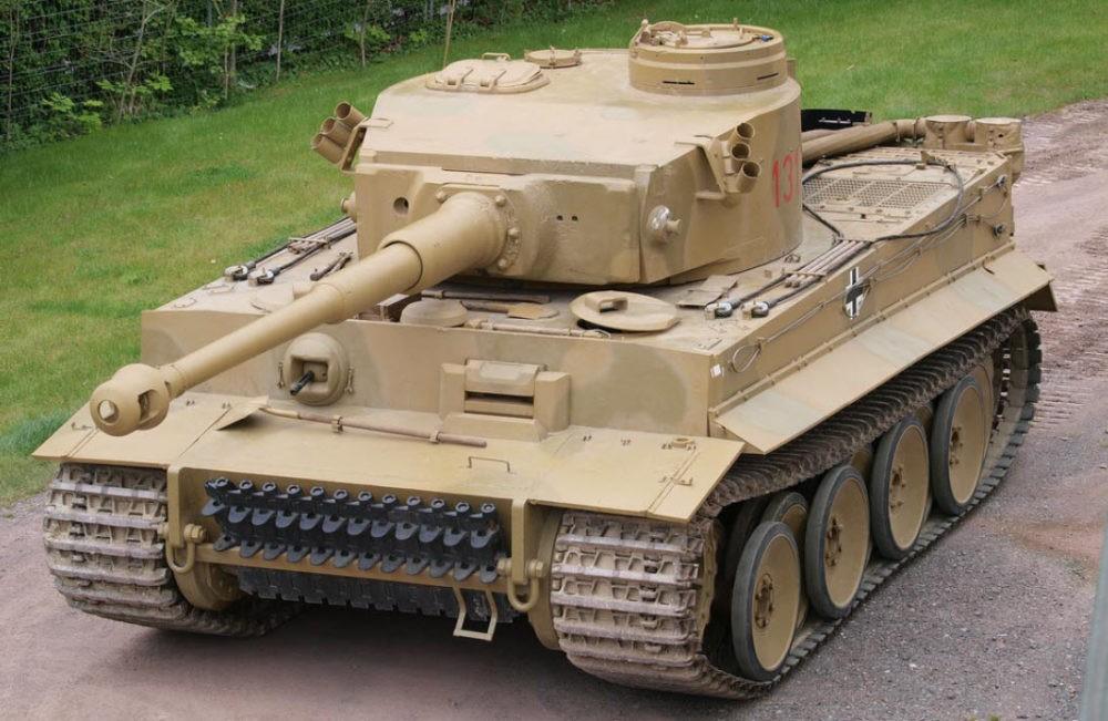 Немецкий танк Pz-VI «Тигр»