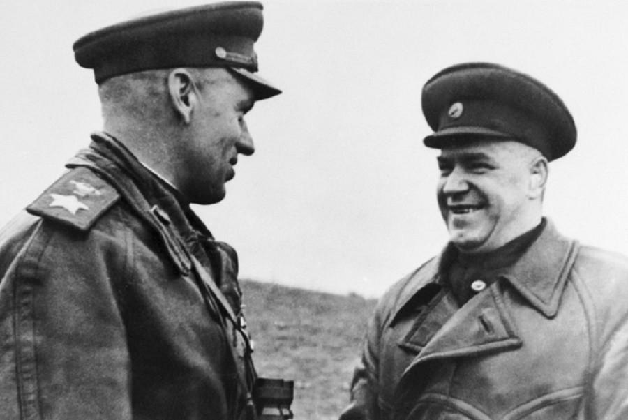 Рокоссовский и Жуков