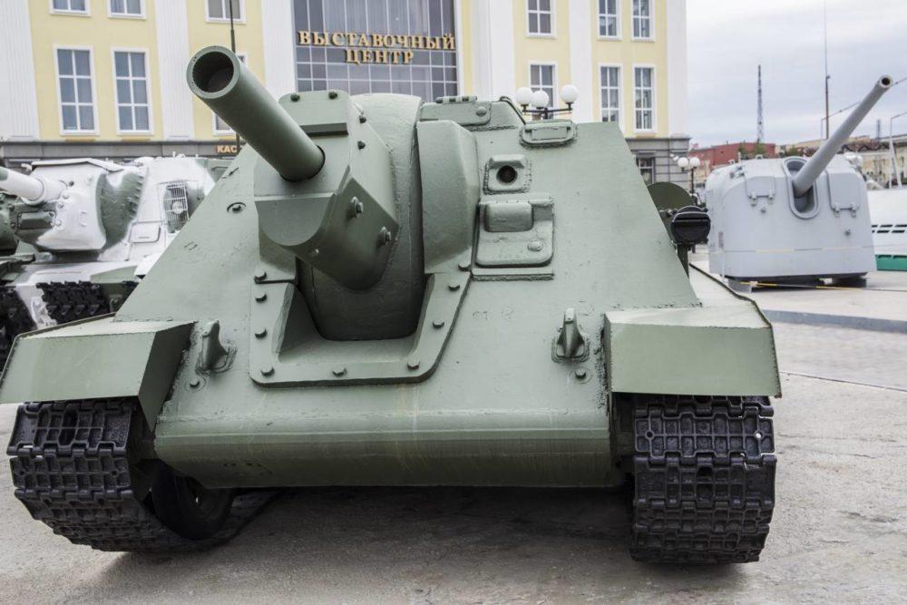 Самоходное орудие СУ-122