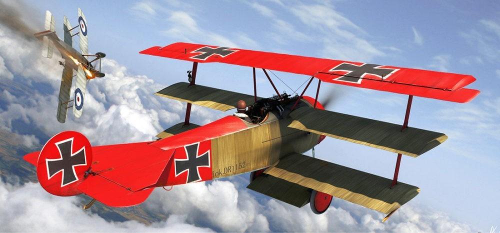 Самолет времен Первой мировой