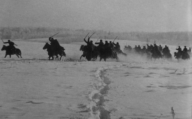 Советская кавалерия в контрнаступлении