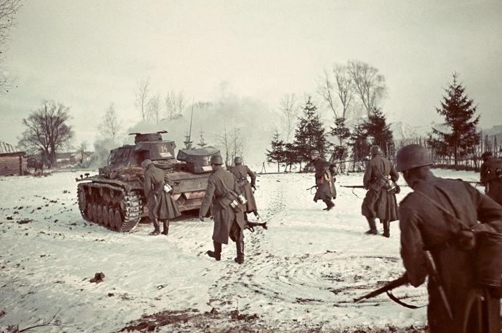 Советские войска у Скирманово