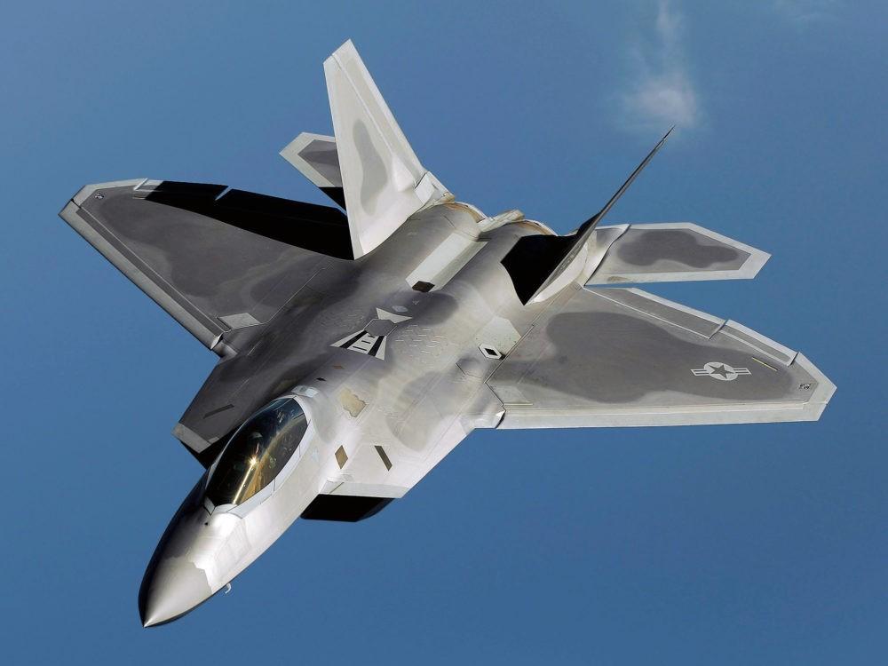 Стелс-истребитель F-22 Raptor